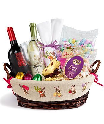 Grown up easter basketif anyone wants to make this for me you grown up easter basket i would love to put a jewishchristian twist on this kiddush wine religious candy etc negle Choice Image