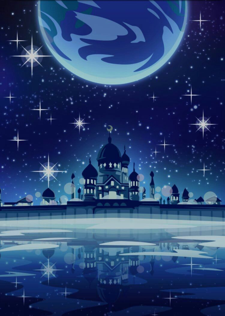 Explore And Download Photo Of Tweet Added By Lminahiromi 今回のコラボ背景綺麗 セーラームーンでの世界の月にあるムーンパレス Sailor Moon Wallpaper Sailor Moon Background Sailor Moon Aesthetic