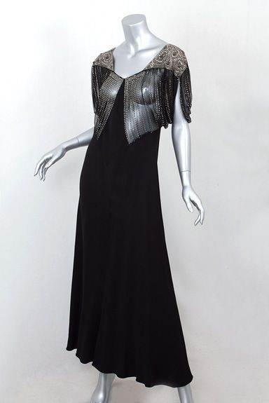 A vintage 1930's dress.  Yes please.