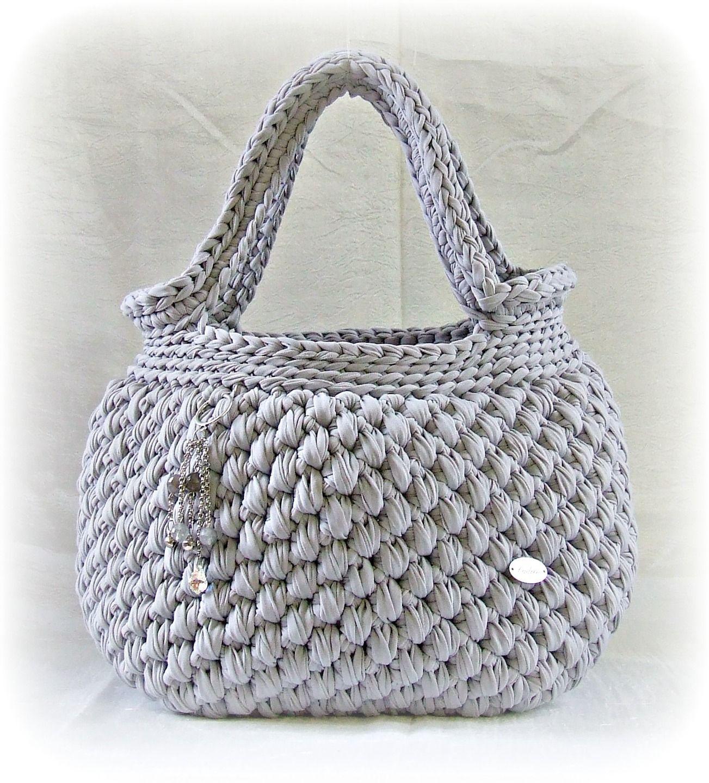 borsette di fettuccia - Cerca con Google | Bag | Pinterest | Crochet ...
