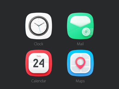4 Icons Psd Android Icons Mobile App Icon App Icon Design