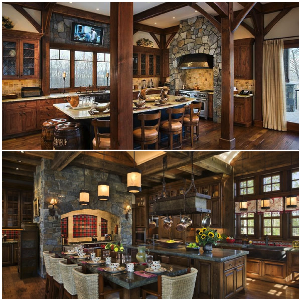Best Cozy Rustic Kitchens Worthy Of A Mountain Lodge Rustic 400 x 300