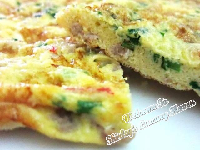 Happy Call Recipe: Fluffy Minced Pork Omelette (肉碎煎蛋) #HappyCall #hcp #recipes #omelette #eggs #chinesefood #asian #