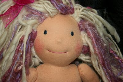 """Cherie ~ 15"""" tall and made with all natural products, in a pet and smoke free environment. SOlD"""