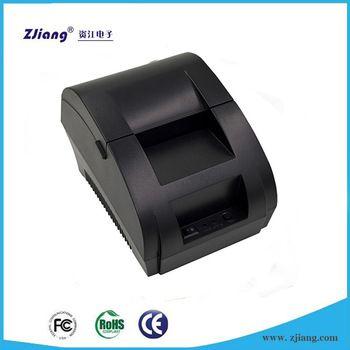 Printers ZJ-5890K with Driver Hotel Bill 58mm Receipt
