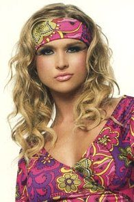 70S Hairstyles Cool Disco Hairstyles  70S Hairstyle Shoes And Accessories Haleys