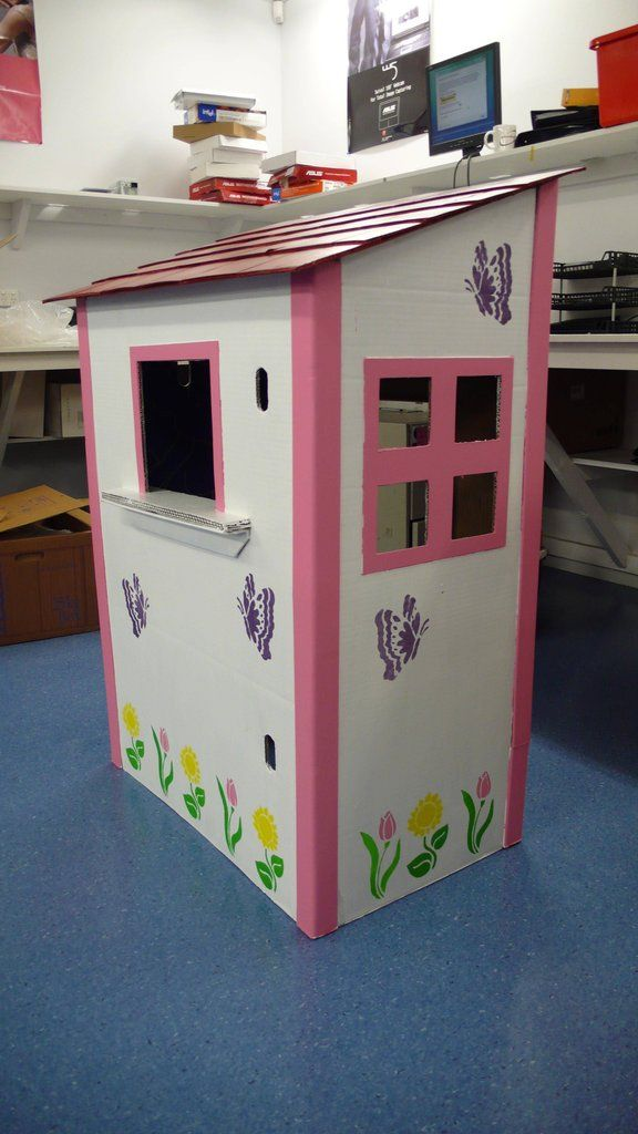 Cardboard play shop - Imgur