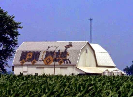 Train Sherriff Goslin Company Art Loc Shingles Barn
