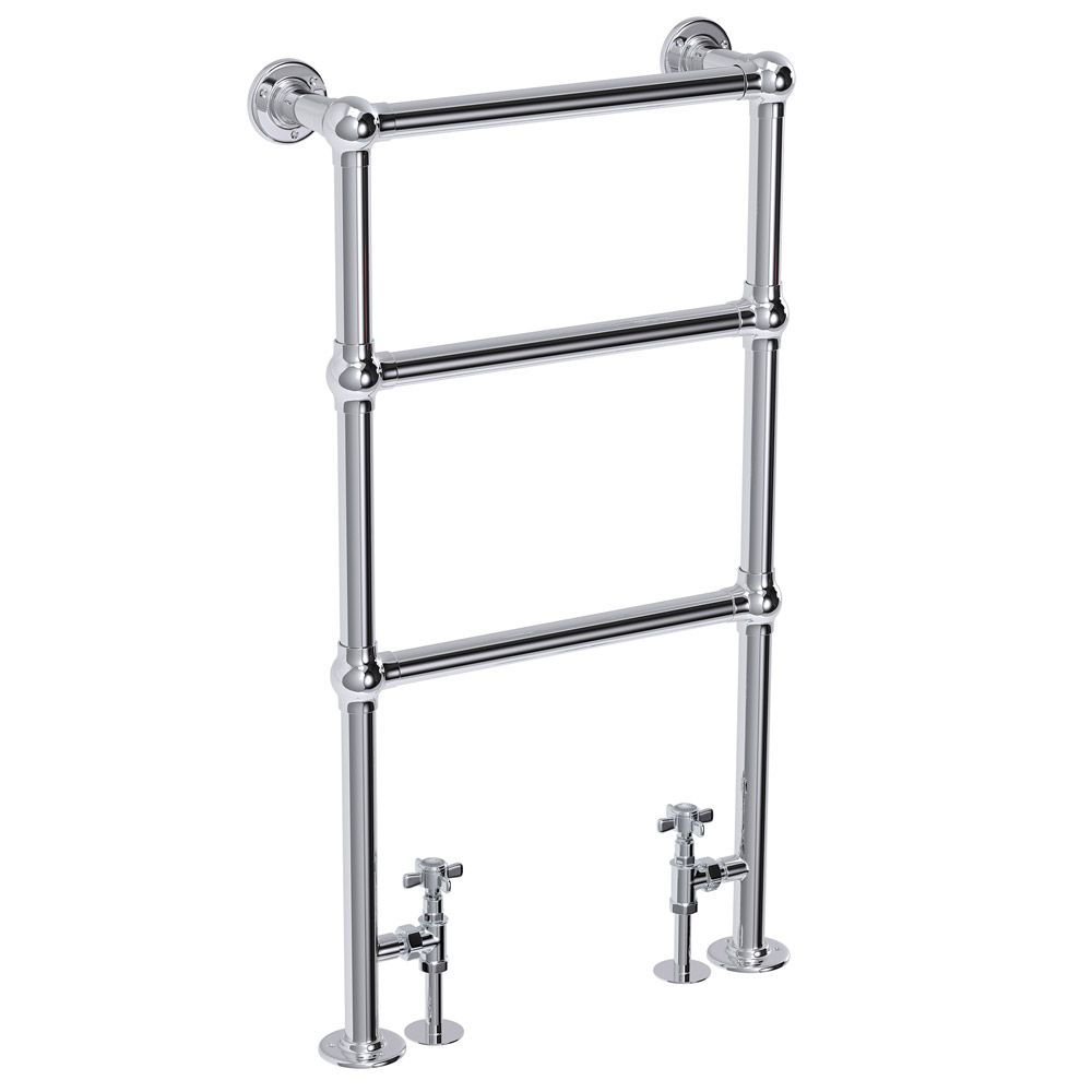 Small heated towel rails for bathrooms - Hamilton Traditional 949 X 498mm Chrome Towel Rail Towel Radiatorbathroom