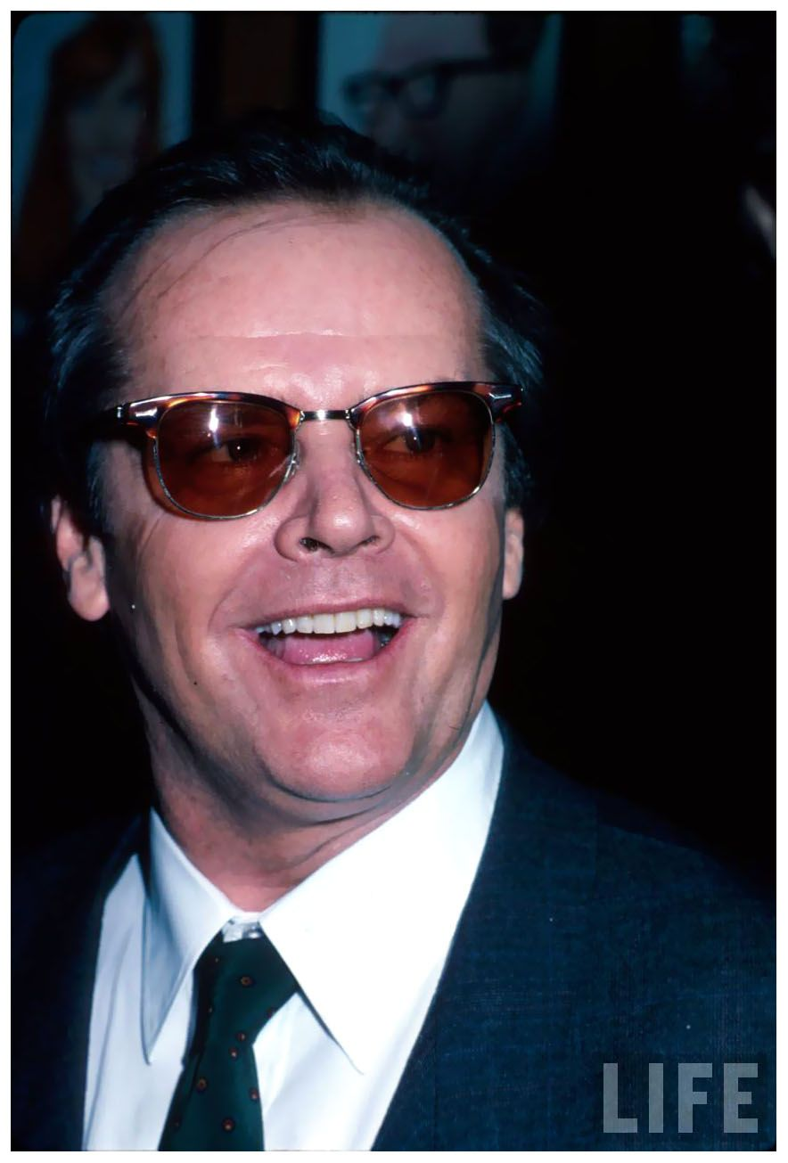 Jack Nicholson Sunglasses February 2017