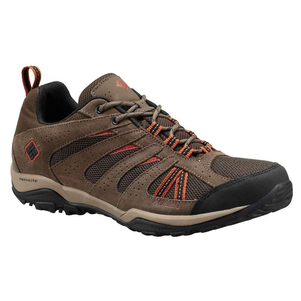 Columbia Men's North Plains Drifter WP Shoe - 12 - Cordovan / Sanguine