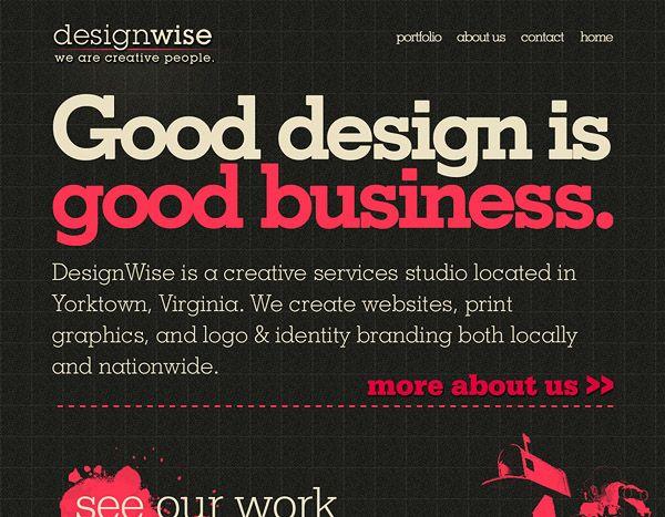40 vintage retro style website design inspiration dzineblog com rh pinterest com