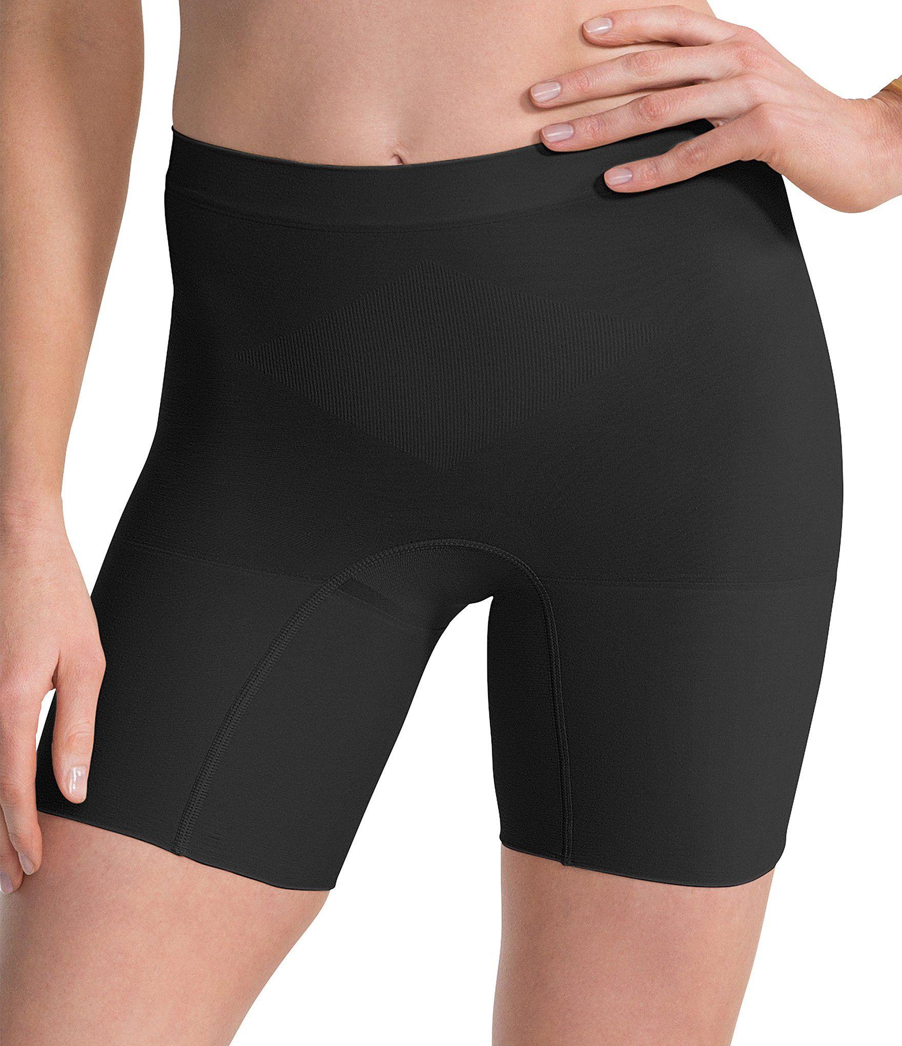 Spanx Power Mid-Thigh Short - VERY BLACK L 3