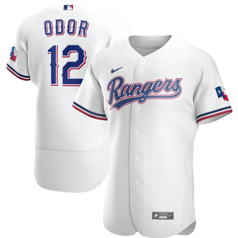 Rougned Odor Texas Rangers Nike Home 2020 Authentic Player Jersey White In 2021 Odor Texas Rangers Texas Rangers Rougned Odor