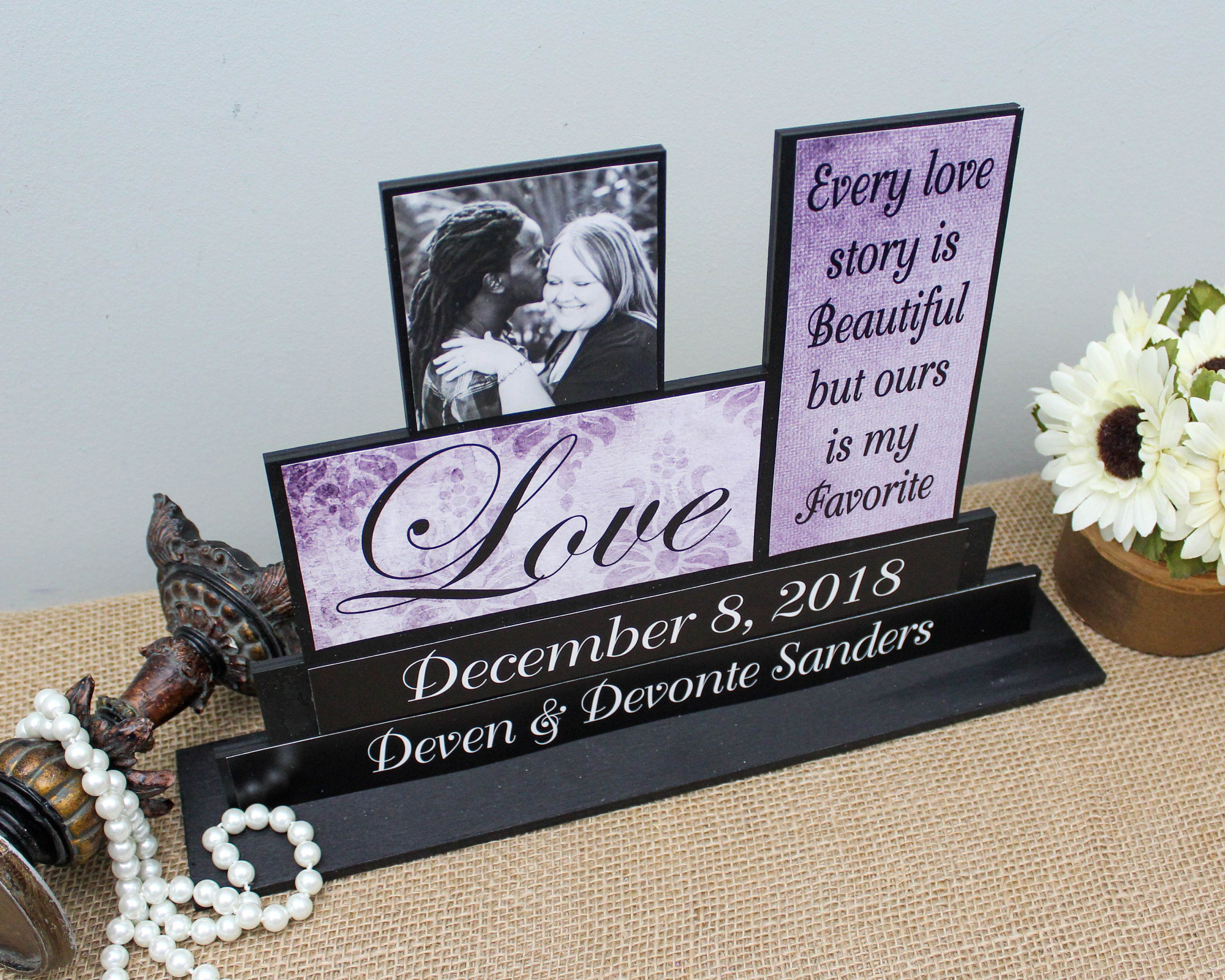 Every Love Story Is Beautiful Groom to Bride Gift Love