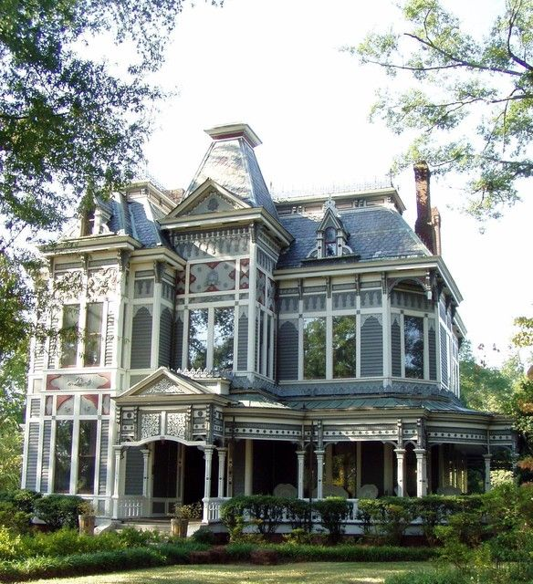 Beautiful Gothic Revival Style House Old Victorian Homes Victorian Homes Mansions