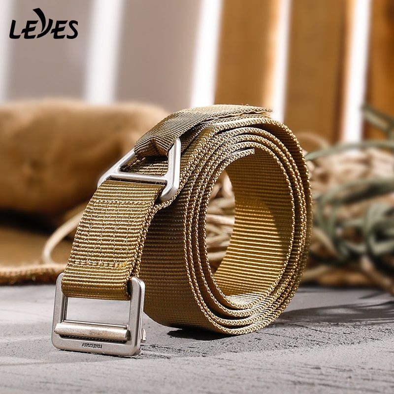 Adjustable Survival Tactical Belt Emergency Rescue Rigger Militaria for Hunting Waist Support Hot Sa