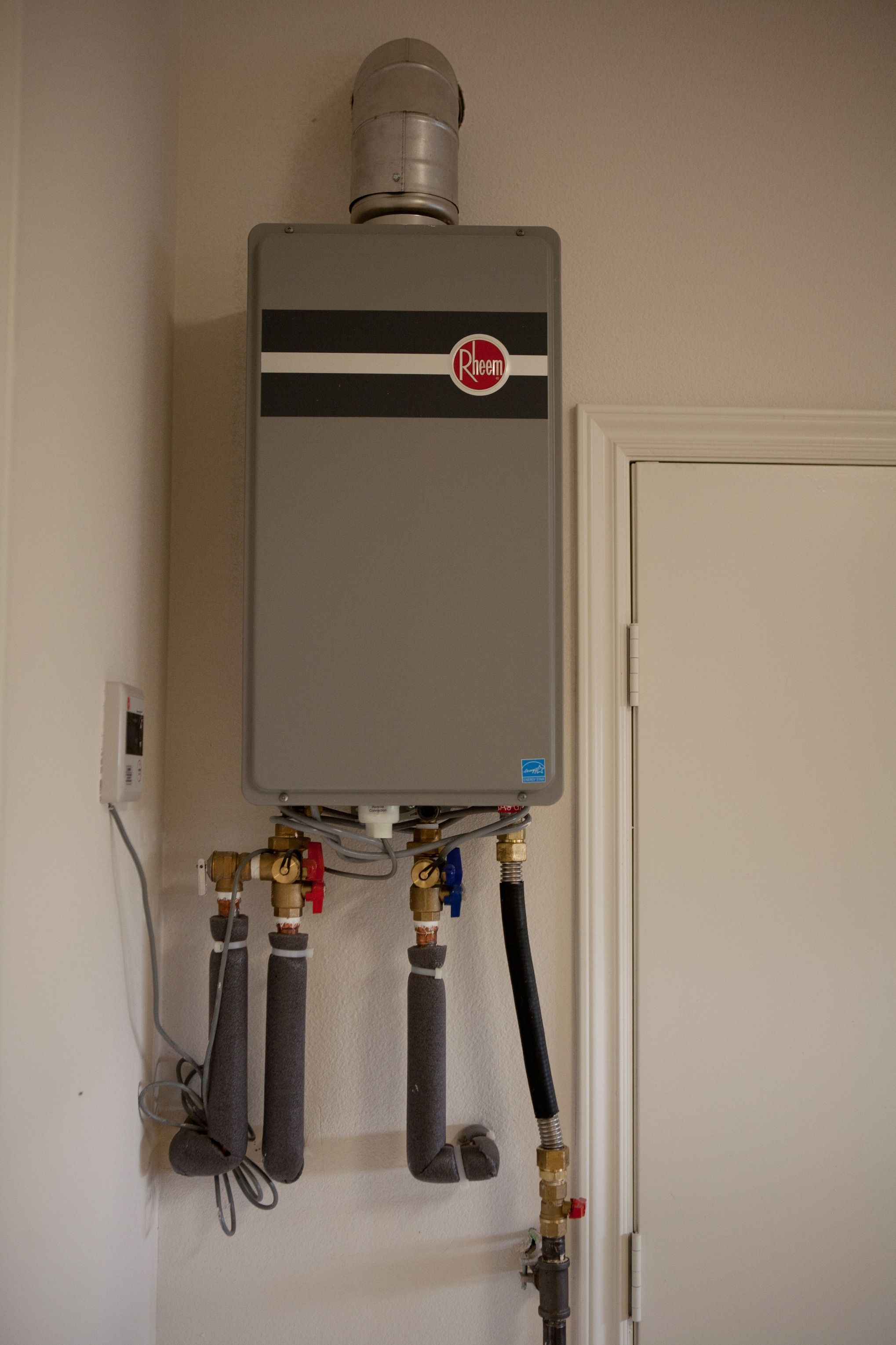 Tankless Water Heater Not To Be Confused With Hot Water On