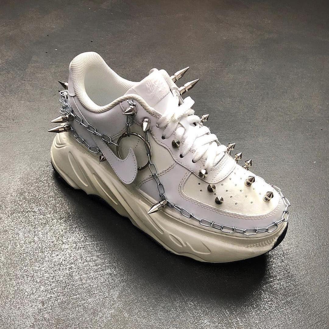 Painted Urban Street Sneakers