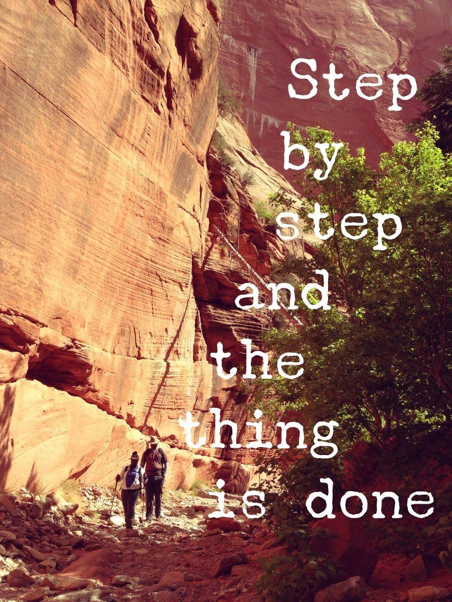 Take that step! Take a #hike