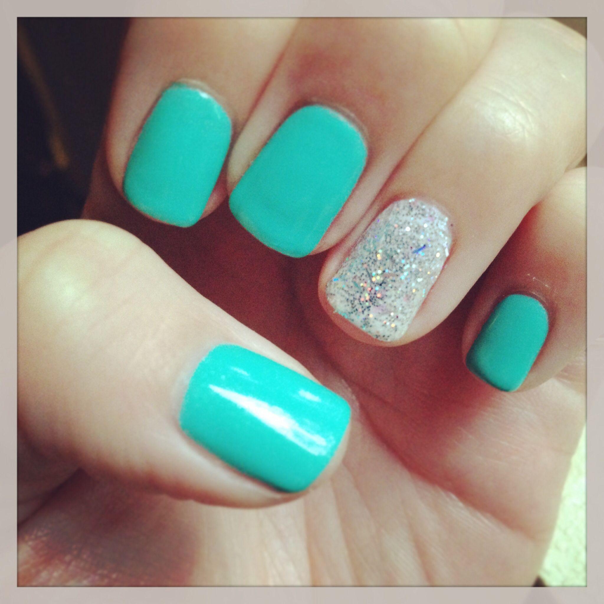 Nails tiffany blue gel shellac beautiful creative nails nails tiffany blue gel shellac prinsesfo Gallery