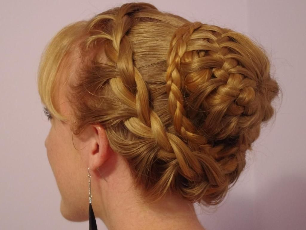Fancy hairstyles with braids prom hairdos for short hair