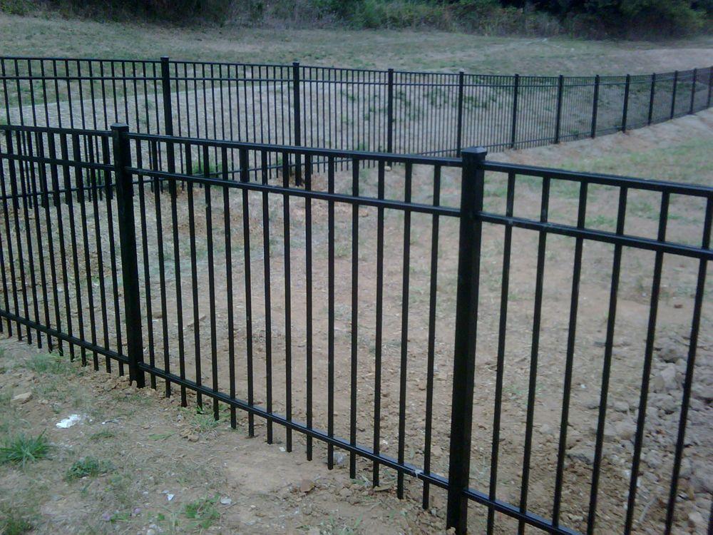 Nashville Fence Deck Deck Metal Fence Fence