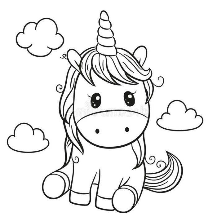 1001 Ideas De Dibujos De Unicornios Bonitos Y Faciles Dibujos De Unicornios Dibujos De Animales Sencillos Dibujos