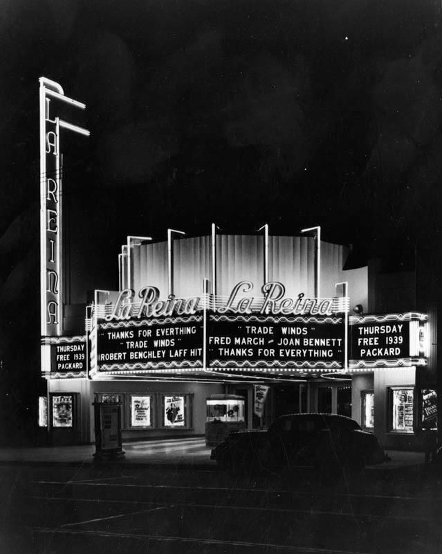 La Reina Theater, located at 14626 Ventura Boulevard in Sherman Oaks.