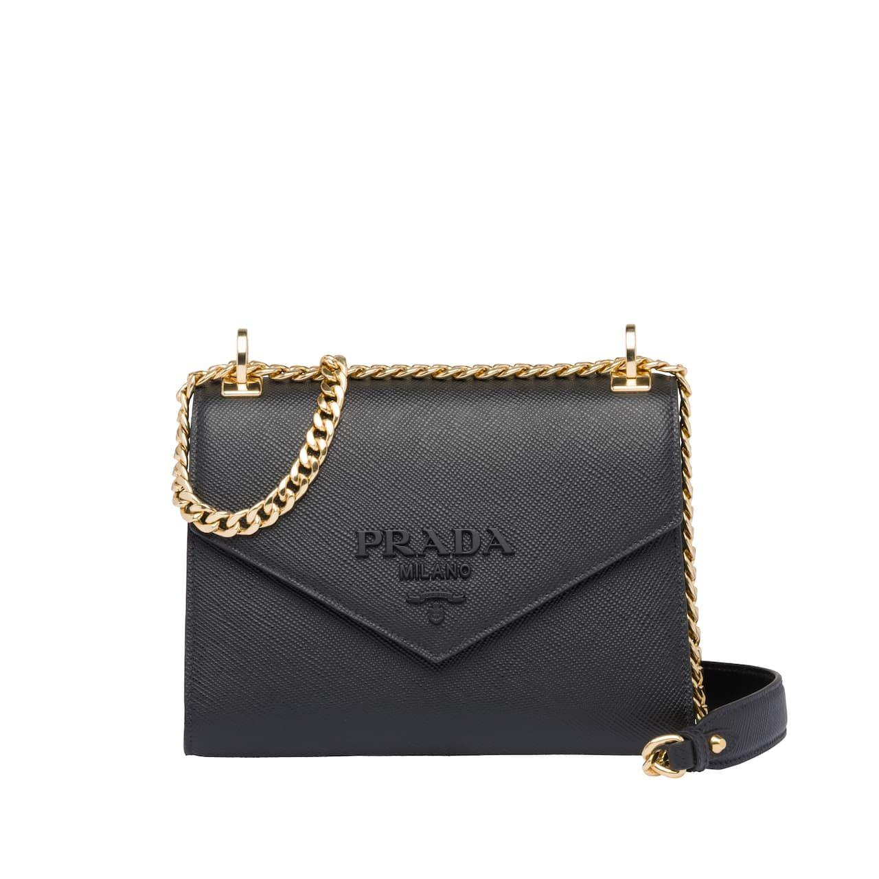 Photo of Prada Monochrome Saffiano leather bag
