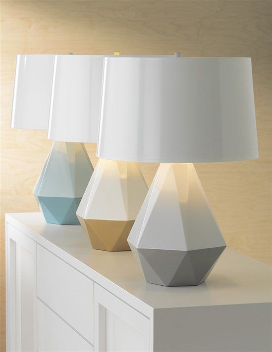 Brand New Robert Abbey Geometric Table Lamps At Lamps Plus