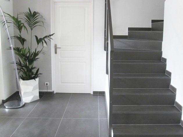 Resultat De Recherche D Images Pour Escalier Carrelage Escalier Carrelage Decoration Maison Moderne Habillage Escalier