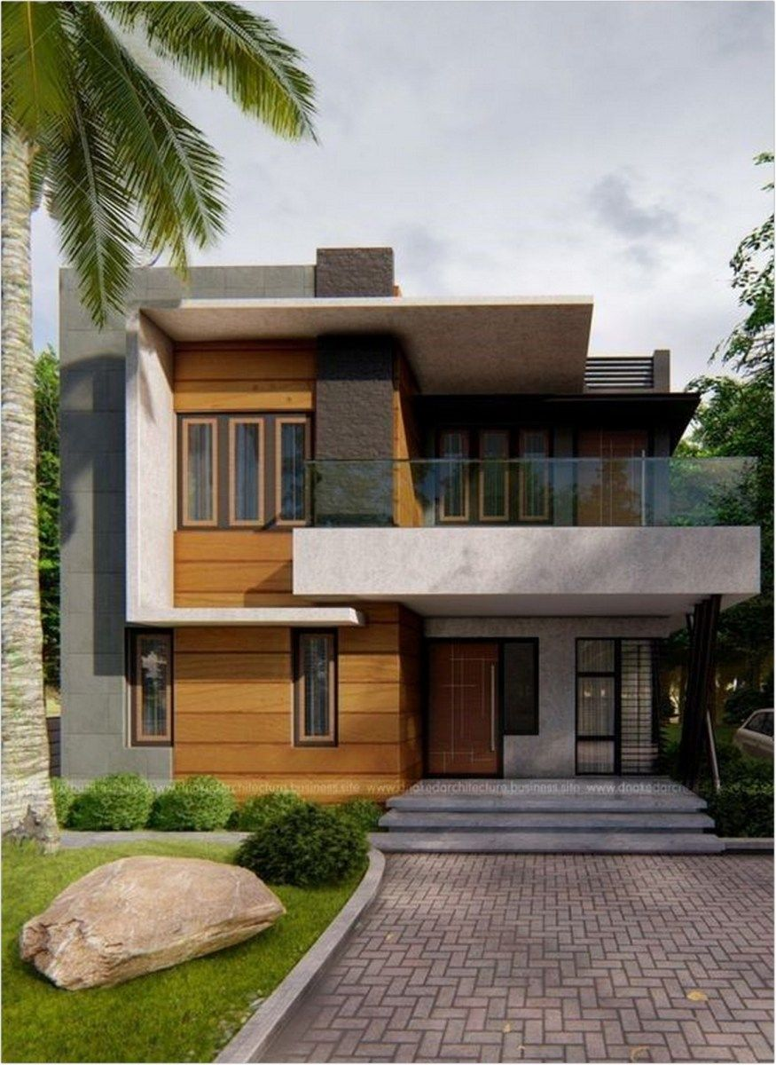25 Special Edition Modern House Design For Your 2020 Architectural Inspiration Small House Design House Architecture Design House Outside Colour Combination