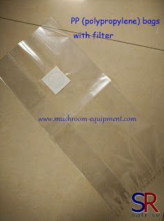 mushroom equipment,mushroom equipment,growing mushrooms indoors: Breathable PP (Polypropylene) bags with filters