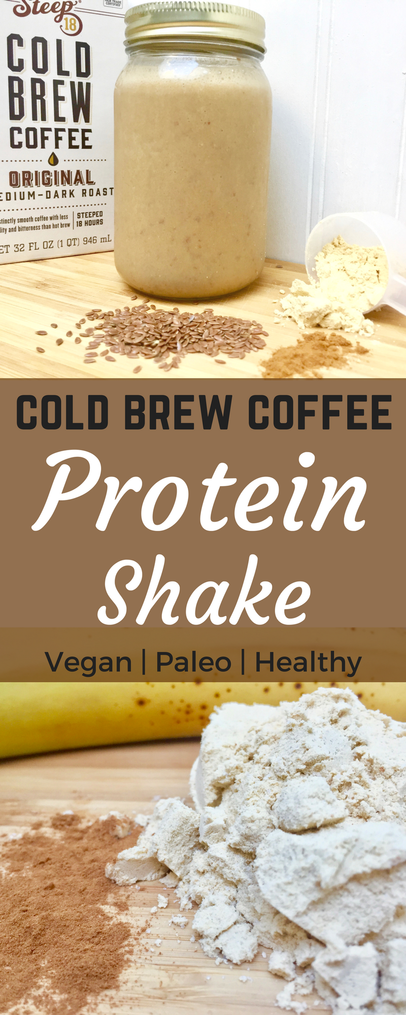 Cold Brew Coffee Protein Shake Dairy free protein shakes