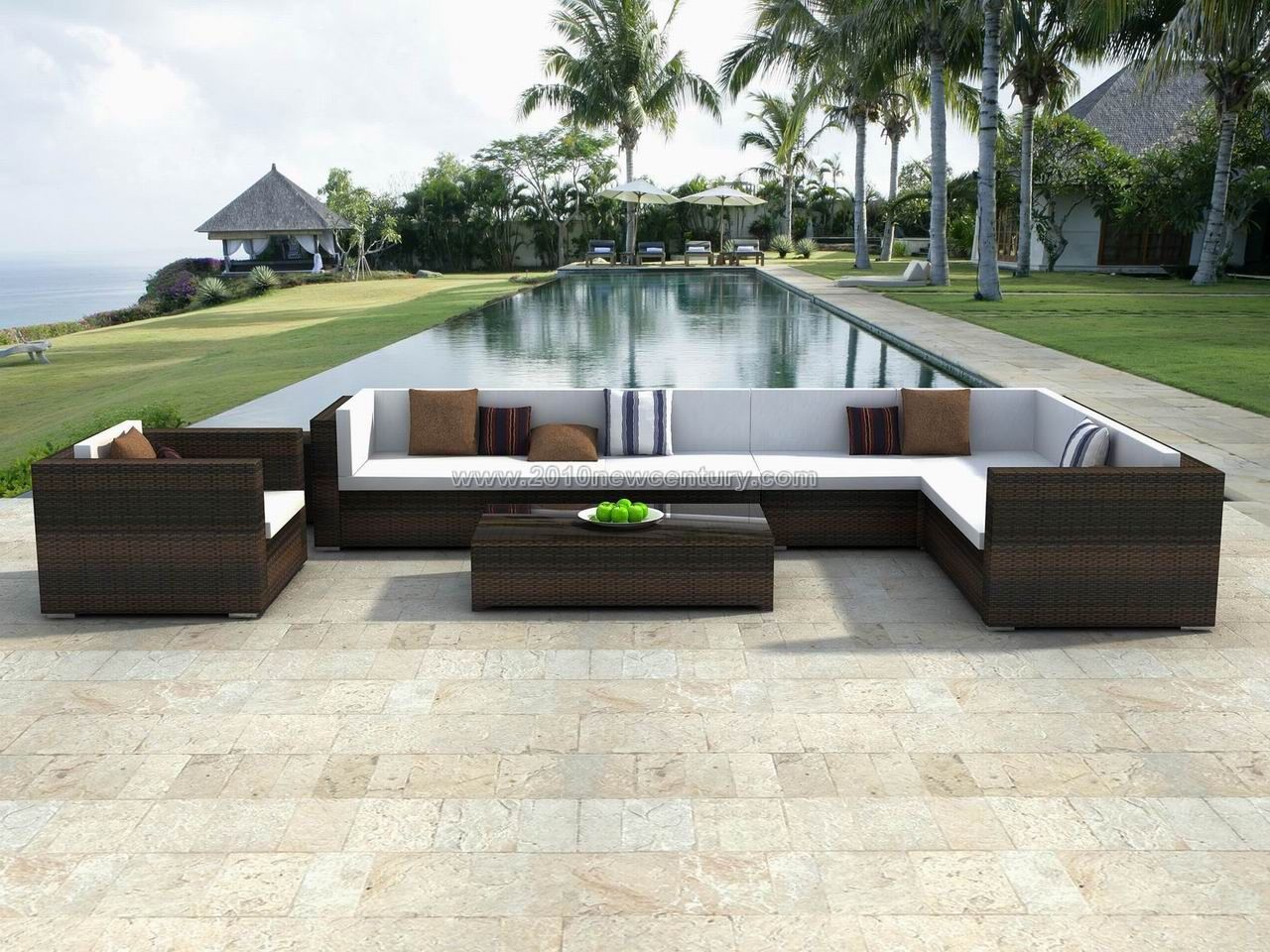 Weatherproof Rattan Garden Furniture Outdoor Furniture  # Muebles Mimbre Segunda Mano