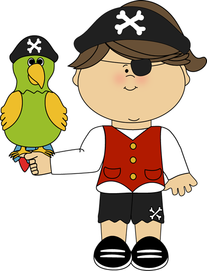 pirate girl with parrot pirate clip art pinterest girls clip rh pinterest com free pirate clipart for kids free pirate clipart flag