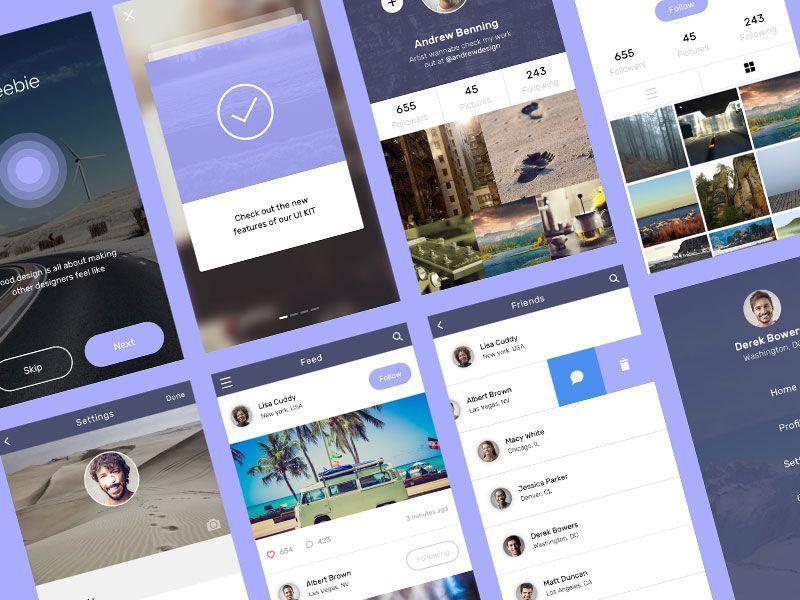 Pin Su Social App Design