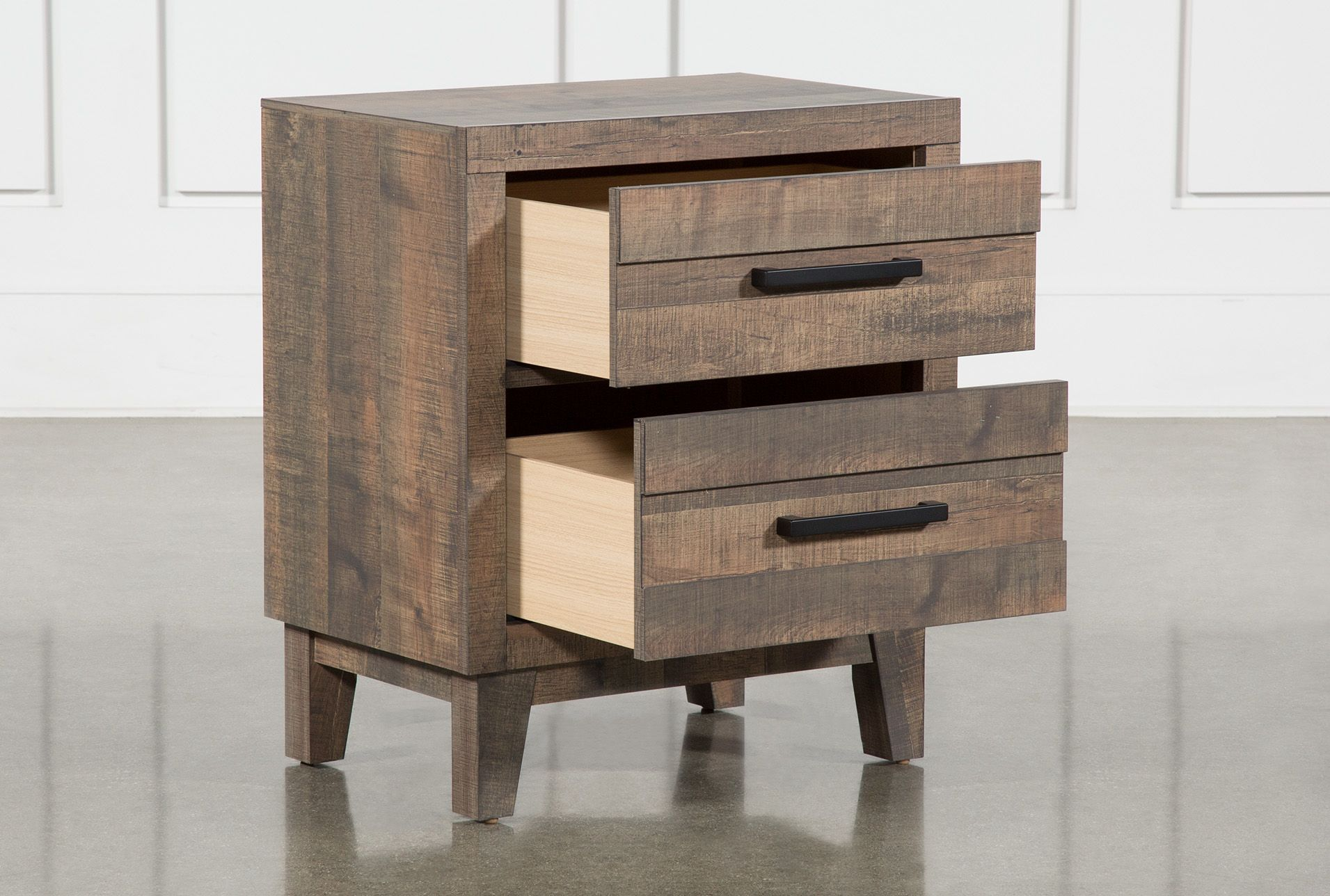 Ranier Nightstand Brown 115 Wood Dust California King