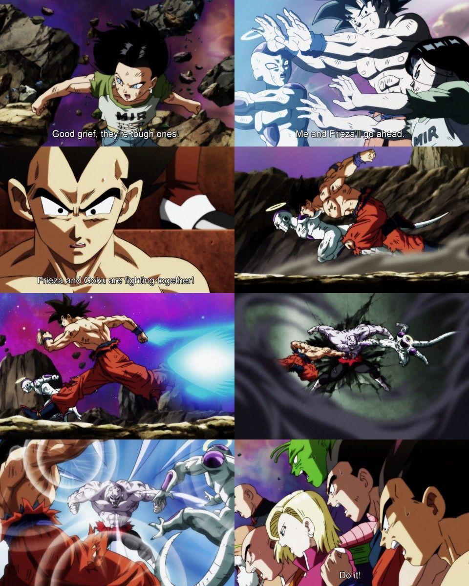 Android 17 Goku And Frieza Vs Jiren Dragon Ball Super Dragon Ball Z Anime