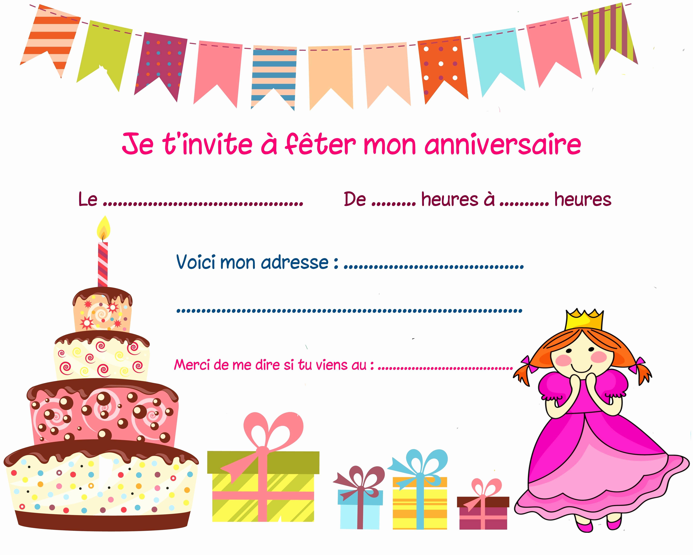 Elegant Carte Invitation Anniversaire Ado Fille A Imprimer Gratuite Anniversary Invitations Anniversary Cards Invitations
