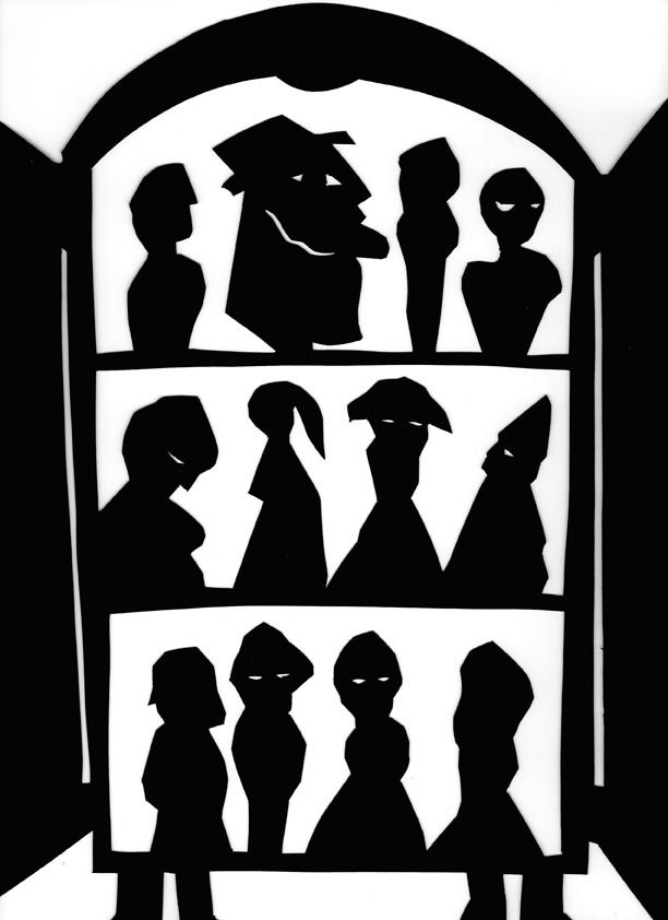 """From """" The Nutcracker """", silhouette by Stefania Missio"""