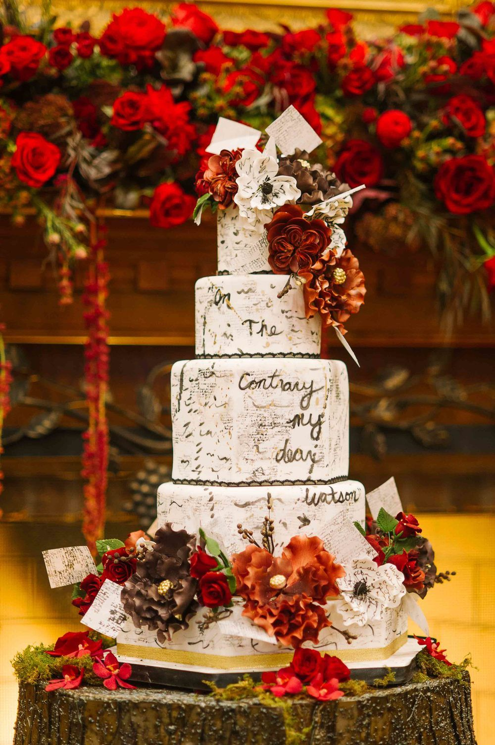 Sherlock Holmes Themed Wedding At Vintage Hotels Pinterest