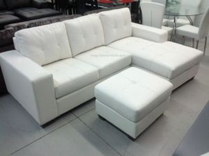 3PCS BONDED LEATHER SECTIONAL SET LOWEST PRICES GUARANTEED