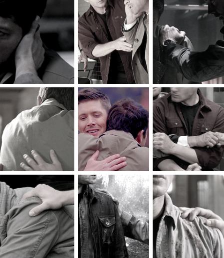 When Castiel first laid a hand on you in Hell, he was lost! #spn #destiel