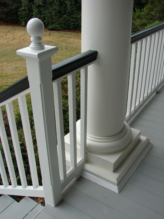 Porch Railings Design Pictures Remodel Decor And Ideas Page 8 Porch Railing Porch Railing Designs Front Porch Railings