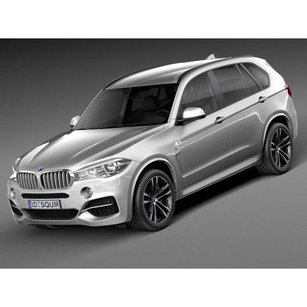 2016 Bmw X5 M Camshaft: BMW X5 M-Package 2016 - 3D Model
