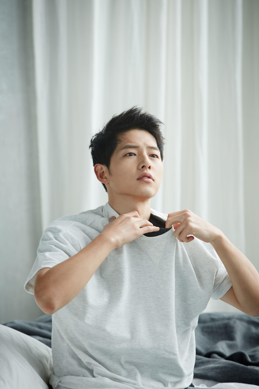 Song Joong ki for TOPTEN10 16 S/S LOOKBOOK | Aktor, Selebritas