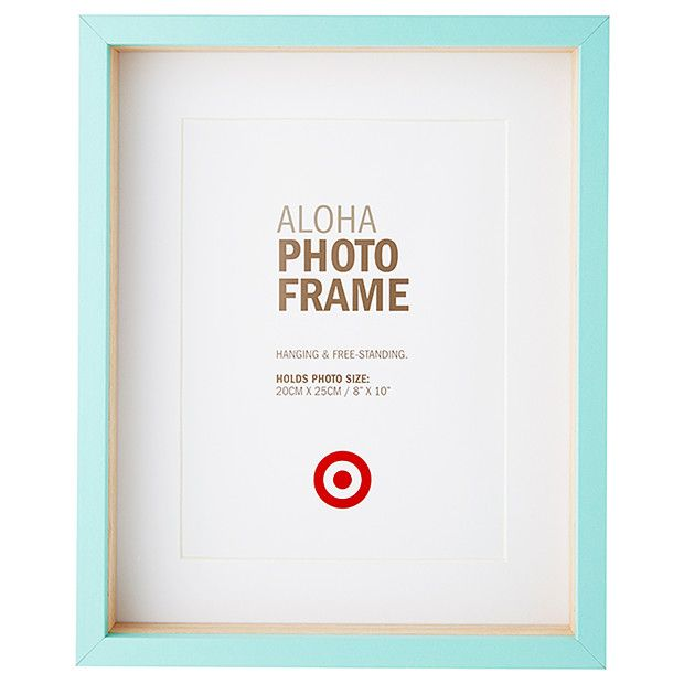 Aloha Photo Frame - 20 x 25cm - Blue | Target and Walls