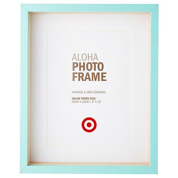 Aloha Photo Frame - 20 x 25cm - Blue | Target Australia | Beautiful ...